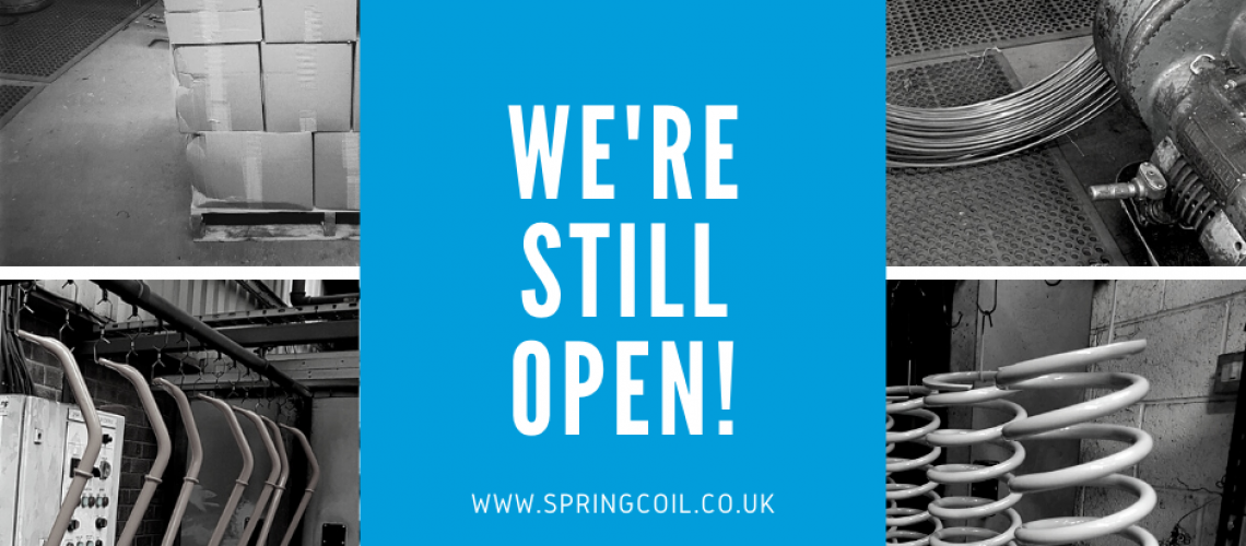 were still open